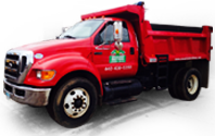 Savarino Brothers Mulch Delivery Truck